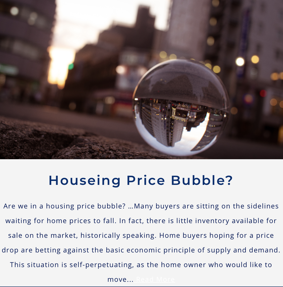 Housing Price Bubble Blog Post